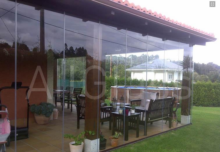 Cortinas cristal porches 6 murcia frampe cortinas de cristal - Cerramientos de metacrilato ...