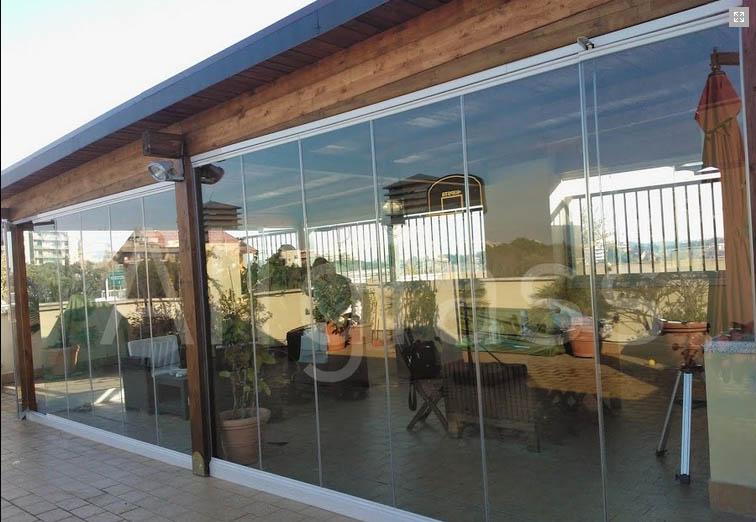 De Aluminio Para Porches. Gallery Of Cerramiento De Cristal Con ...