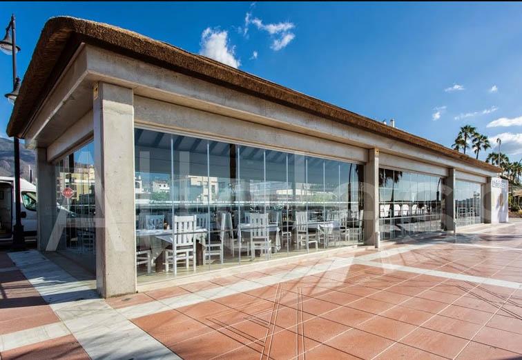 Cortinas cristal restaurantes 3 murcia frampe cortinas for Cortinas de cristal murcia