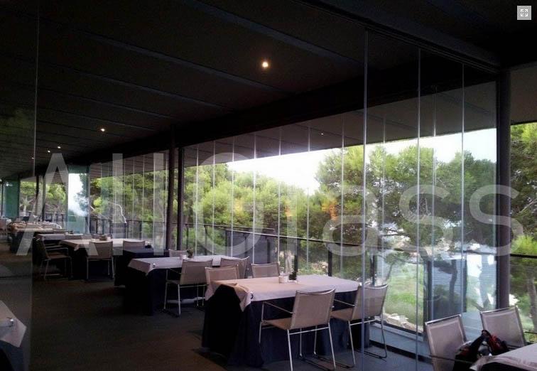 Cortinas cristal restaurantes 6 murcia frampe cortinas for Cortinas de cristal murcia